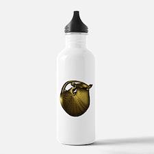 Sleeping Golden Armadi Water Bottle
