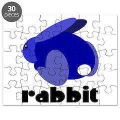 Blue Rabbit Puzzle