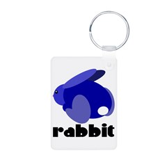 Blue Rabbit Keychains