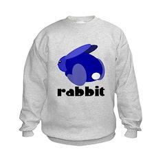 Blue Rabbit Sweatshirt