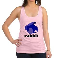 Blue Rabbit Racerback Tank Top