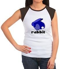 Blue Rabbit Women's Cap Sleeve T-Shirt