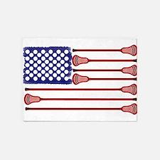 Lacrosse AmericasGame 5'x7'Area Rug