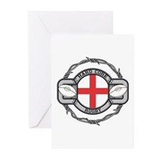 England Rugby Greeting Cards (Pk of 10)