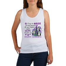 Holiday Penguins Epilepsy Women's Tank Top