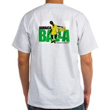 Jamaica Yard Balla 2 Ash Grey T-Shirt