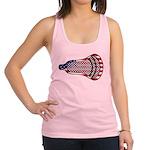Lacrosse FlagHead Racerback Tank Top