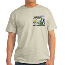 Holiday Penguins Down Syndrome T-Shirt