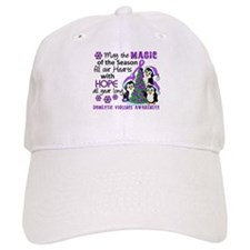 Holiday Penguins Domestic Violence Baseball Cap