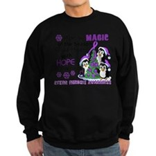 Holiday Penguins Cystic Fibrosis Jumper Sweater
