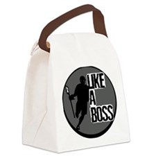 Lacrosse Like A Boss Canvas Lunch Bag