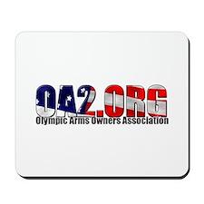 OA2 Flag Logo Mousepad