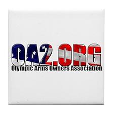 OA2 Flag Logo Tile Coaster