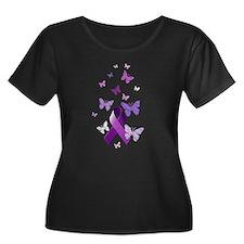 Purple Awareness Ribbon T
