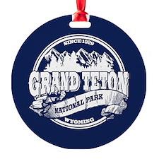 Grand Teton Old Circle Ornament
