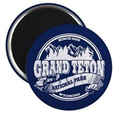 Grand Teton Old Circle Magnet