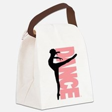 Beautiful Dance Figure Canvas Lunch Bag