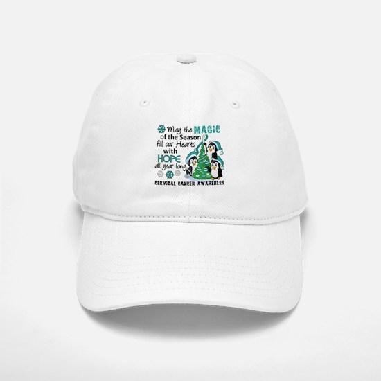 Holiday Penguins Cervical Cancer Hat