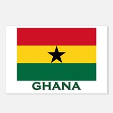 Ghana Flag Stuff Postcards (Package of 8)
