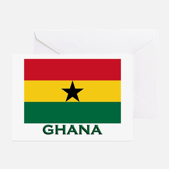 Ghana Flag Stuff Greeting Cards (Pk of 10)