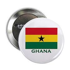 Ghana Flag Stuff Button