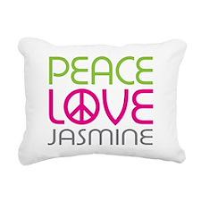 flowerjasmine-01.png Rectangular Canvas Pillow