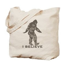 I believe in the Bigfoot Tote Bag