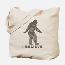 I believe in the Bigfoot Tote Bag