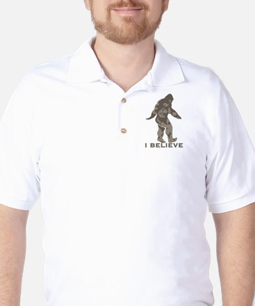I believe in the Bigfoot Golf Shirt