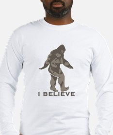 I believe in the Bigfoot Long Sleeve T-Shirt