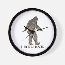 I believe in the Bigfoot Wall Clock