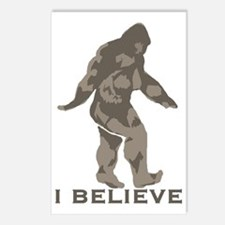 I believe in the Bigfoot Postcards (Package of 8)