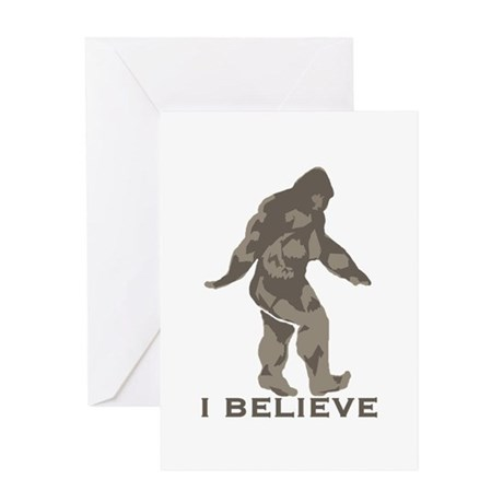 I believe in the Bigfoot Greeting Card