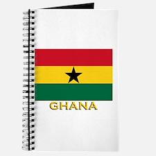 Ghana Flag Gear Journal