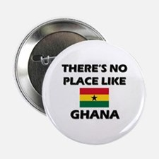 There Is No Place Like Ghana Button