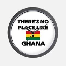 There Is No Place Like Ghana Wall Clock