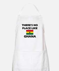 There Is No Place Like Ghana BBQ Apron