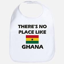 There Is No Place Like Ghana Bib