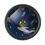 Large Star Trek Enterprise Wall Clock