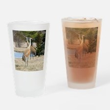 Sandhill Crane Drinking Glass