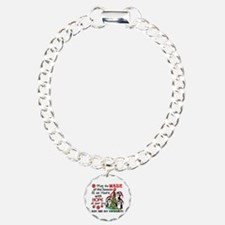 Holiday Penguins AIDS and HIV Bracelet