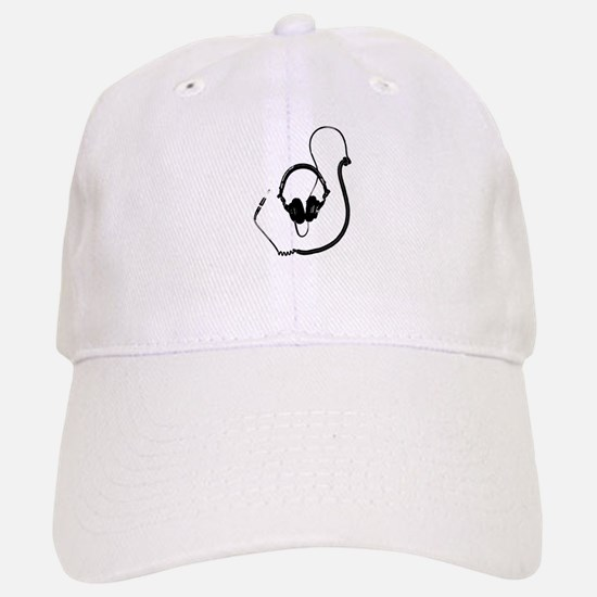Unique Dj Headphones T Shirt Baseball Baseball Cap