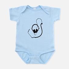 Unique Dj Headphones T Shirt Infant Bodysuit