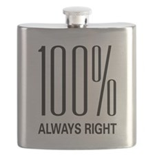100% Always Right Flask