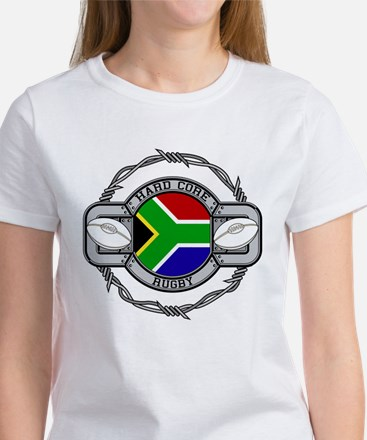 Hard Core South Africa Rugby Women's T-Shirt