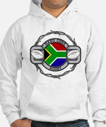 Hard Core South Africa Rugby Hoodie