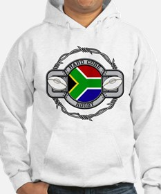 Hard Core South Africa Rugby Jumper Hoody