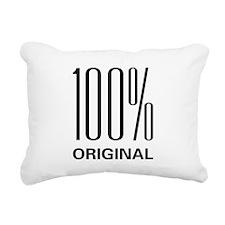 100orig.png Rectangular Canvas Pillow