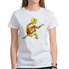 Women's Rocker Turtle T-Shirt