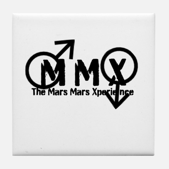 The Mars/Mars Xperience Tile Coaster